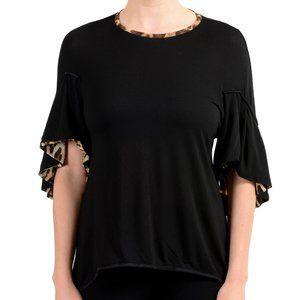 Women's Black Blouse Tunic Top